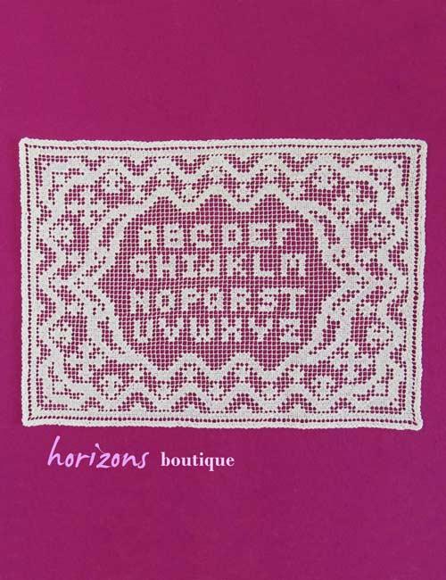 Lace - Doily Alphabet Primer