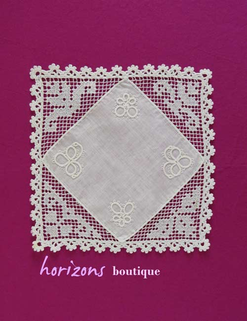 Lace - Square Net and Tatting