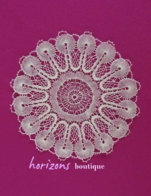Lace - Round Doily 24cm