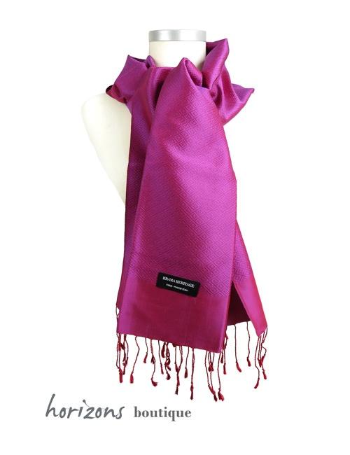 Silk Krama Diamond Purple example