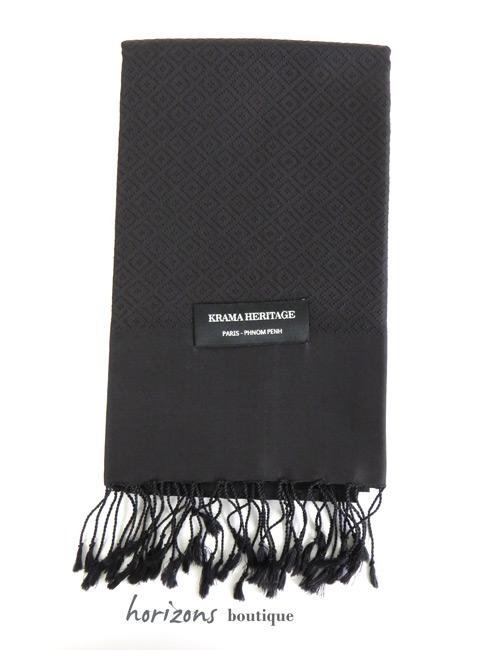 Silk Krama Diamond Black