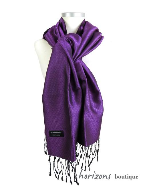 Silk Krama Jasmin Purple example