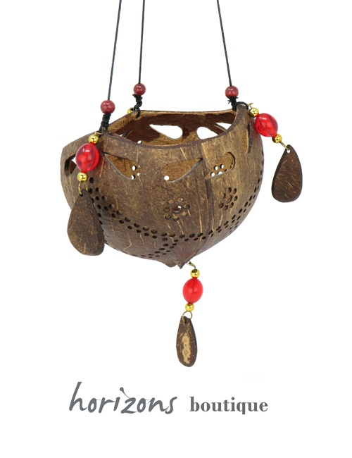 Coconut Lantern L1 - kokoskunst