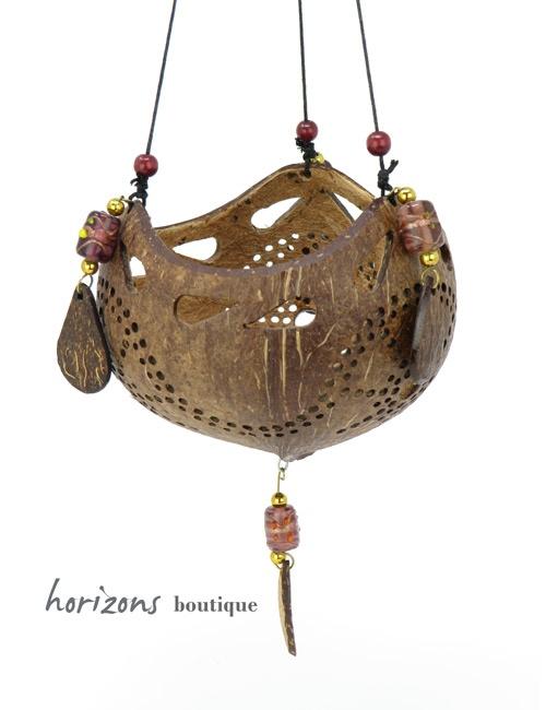 Coconut Lantern L3 - kokoskunst