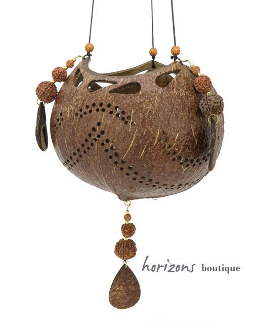 Coconut Lantern L5 - kokoskunst