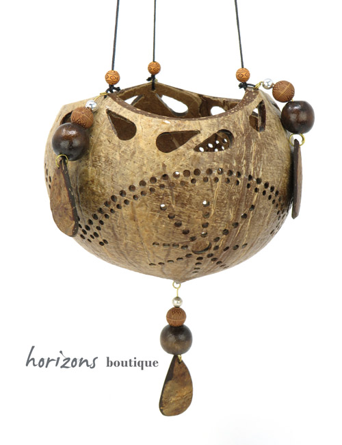 Coconut Lantern L6 - kokoskunst