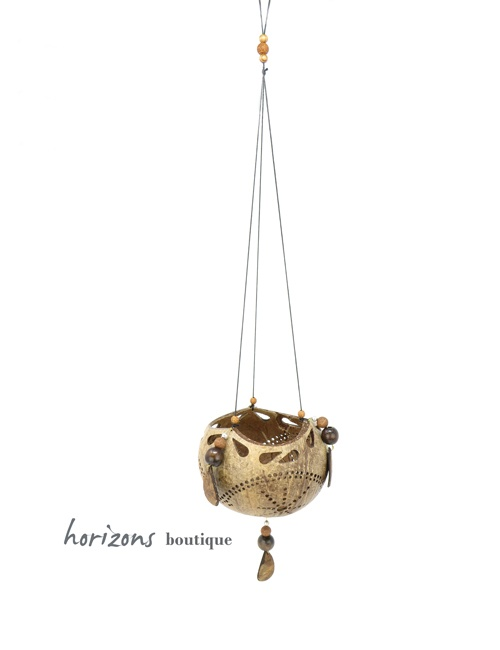 Coconut Lantern L6 hanging - kokoskunst