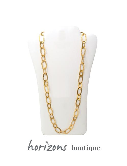 Necklace Gold Maxi - Plumetti