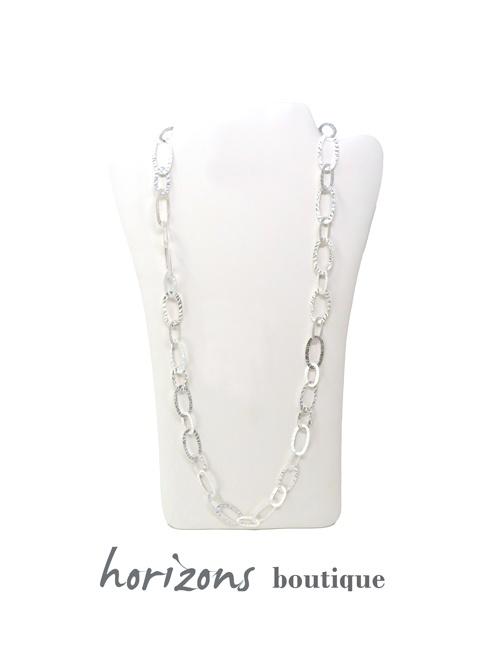 Necklace Silver Maxi - Plumetti