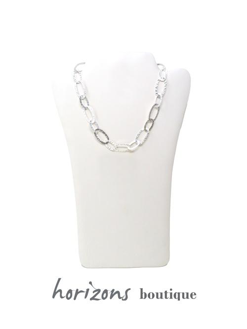 Necklace Silver Mini - Plumetti