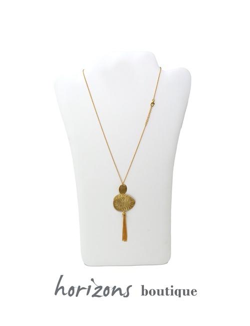 Necklace 3 Gold - Plumetti