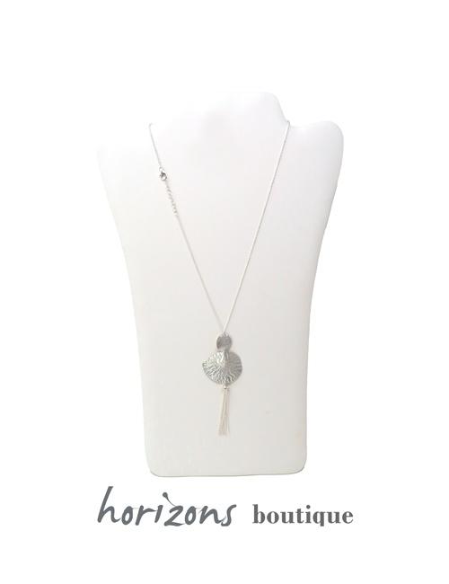 Necklace 3 Silver - Plumetti