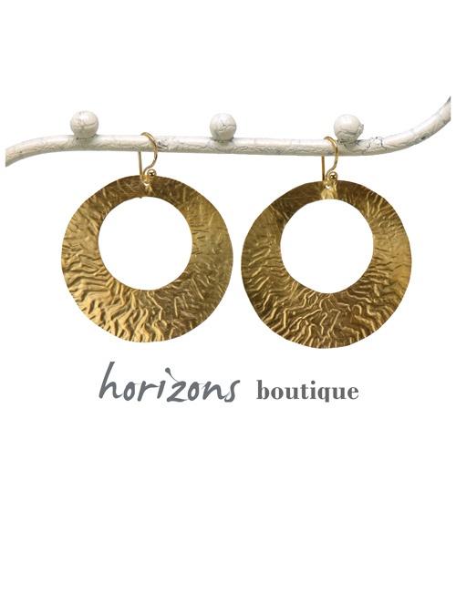 Earrings 1 Loop Gold - Plumetti
