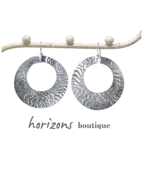 Earrings 1 Loop Silver - Plumetti