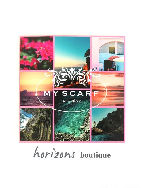 Scarf Capri Colors - My Scarf in a Box