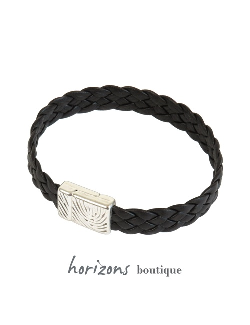 Bracelet ELITIC Braided Choco - Magnum Cuir