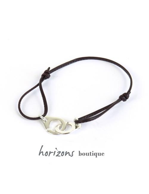 Bracelet MENOTCHIC Adjustable Choco - Magnum Cuir