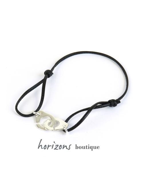 Bracelet MENOTCHIC Adjustable Black - Magnum Cuir
