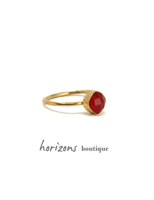 Ring Harlekin Orange - Cahana
