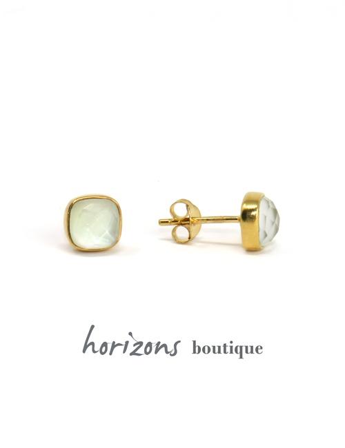 Earrings Carré Crystal - Cahana