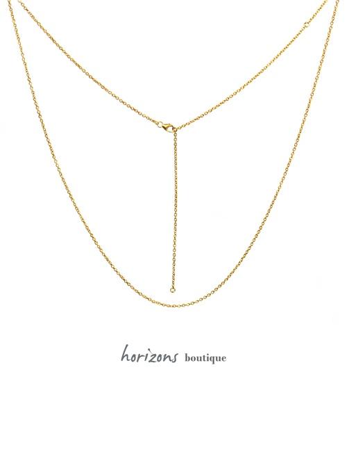Chain Trois Gold - Cahana
