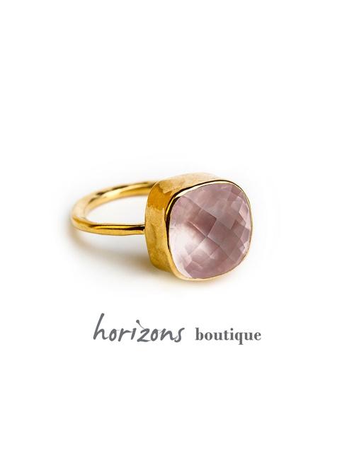 Ring 12 mm Rose - Cahana