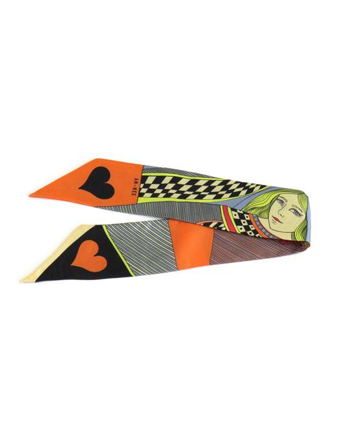 Bracelet Dame de Cœur Orange 4cm - AN-NEE