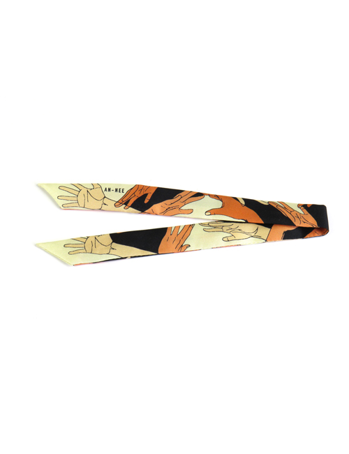Bracelet Handsplay Nude 2cm - AN-NEE