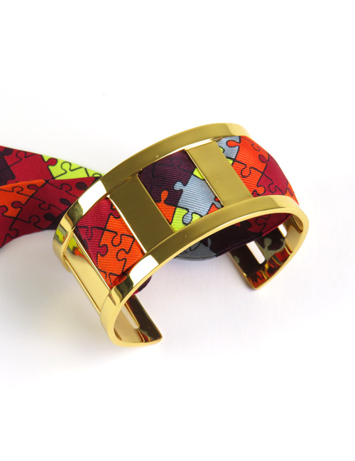 Middle Cuff Gold 3cm - AN-NEE